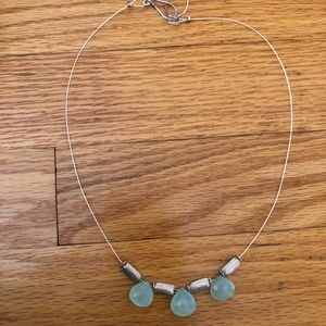 Jewelry - Blue gem necklace